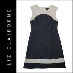 Liz Claiborne Women Sleeveless Shift Dress Size 6